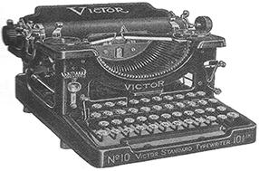 1920s typewriter